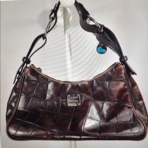Croco Dooney and Bourke  Handbag